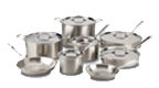 $1,899.99 Brushed D5 14 pc Stainless Set