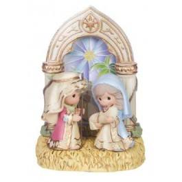 $36.00 Holiday Family Figurine
