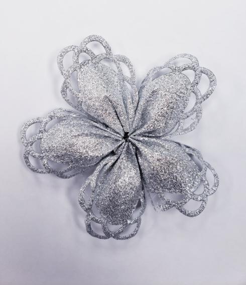 Iris Silver Confetti Flower