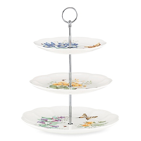 Butterfly Meadow 3 Tier Cake Stand collection with 1 products