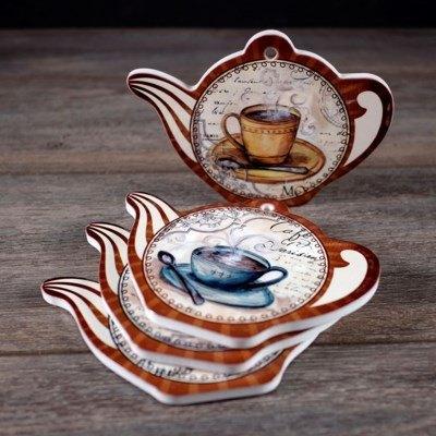 $8.49 Set of 4 Tea Coasters