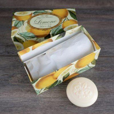 Lemon Soap Set of 6 collection with 1 products