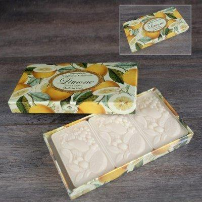 Lemon Soap Set of 3 collection with 1 products