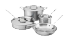 $899.99 Brushed D5 7 pc Stainless Set