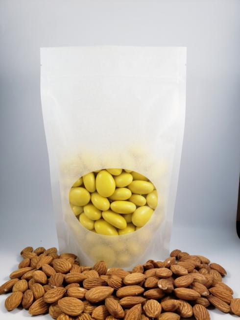 $11.99 Sugar Covered Almonds - Yellow