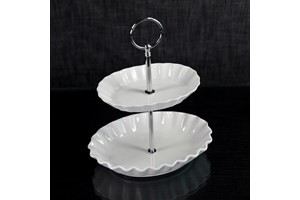 Verdici Two Tier Cake Stand collection with 1 products