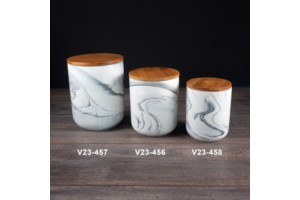 Cannister Marble collection with 1 products