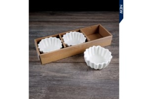 Set of 3 Round Bowls collection with 1 products
