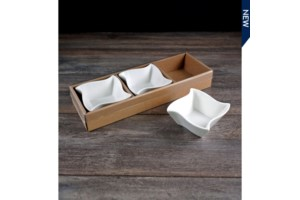 Set of 3 Square Bowls collection with 1 products