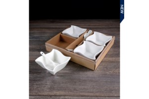 Set of 4 Square Bowls collection with 1 products