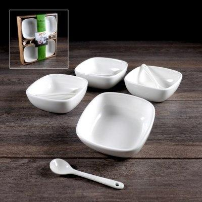 $8.49 Set of 4 Square Dish