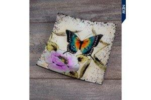 $5.49 Butterfly Square Dish
