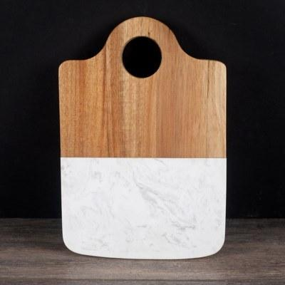 $19.99 Marble Wood Cheese Board