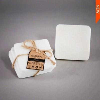 Set of 4 Lite Grey Marble Coasters collection with 1 products