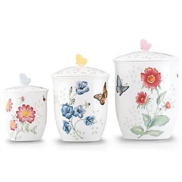 Butterfly Meadow Cannister Set collection with 1 products