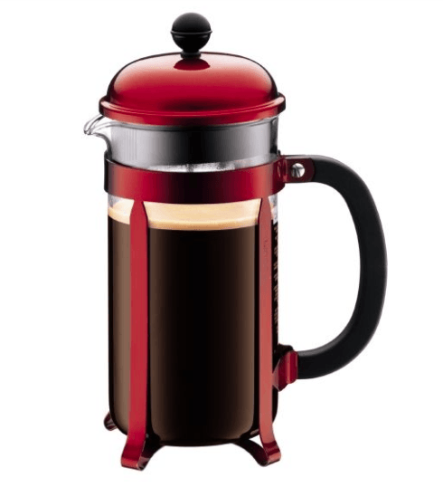Bodum   Cambord French Press, 8 cup, metallic red $49.98
