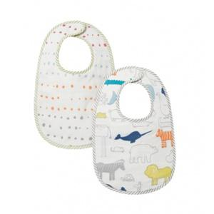 Pehr   Noah\'s Ark Painted Dots Bib Set  $20.00