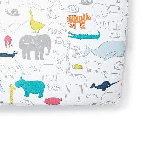 $36.00 Noah\'s Ark Crib Sheet