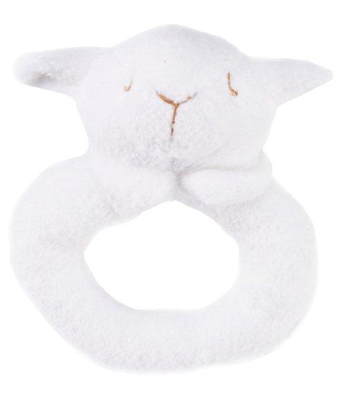 $8.00 Lamb Ring Rattle