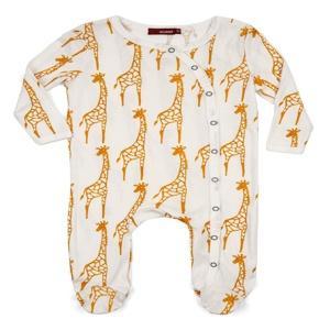 $28.00 Giraffe Footed Onesie