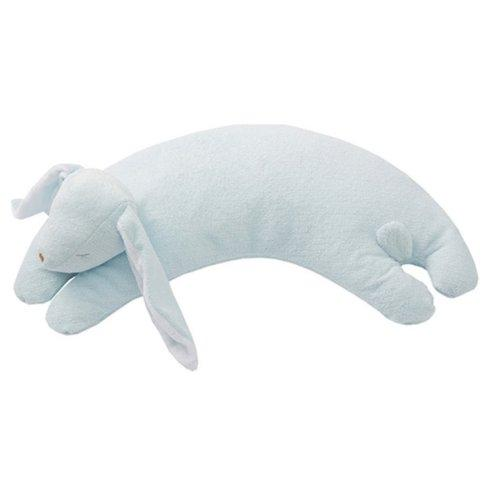 $21.00 Blue Lamb Curved Pillow
