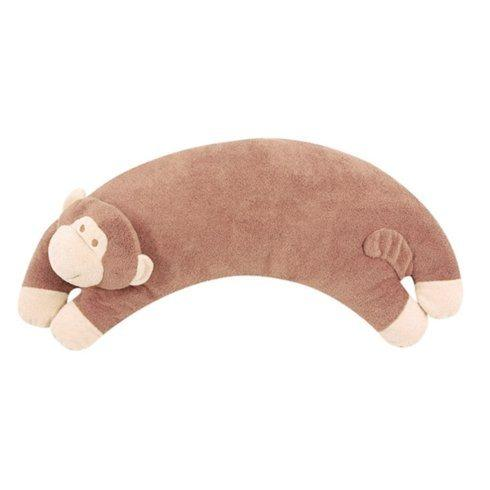 $21.00 Monkey Curved Pillow