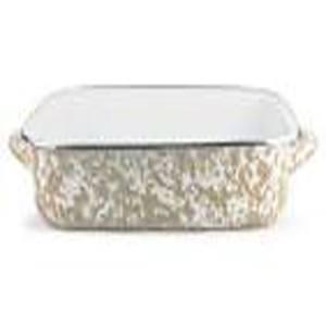 Golden Rabbit  Taupe Enamelware ~ Taupe Swirl Lasagna Pan  $112.00