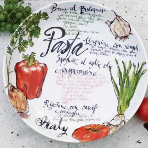 Rosanna   Pasta Italiano Serving Bowl $56.00