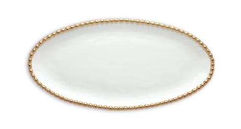 Oval Studded Serving Platter