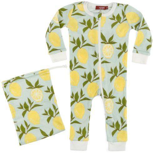 $40.00 Lemon Zip PJ