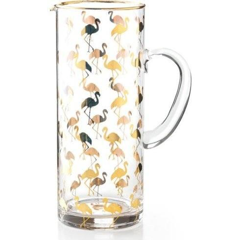 $85.00 Flamingo Pitcher