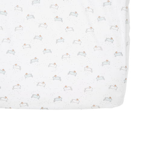 Pehr   Tiny Bunny Crib Sheet $38.00
