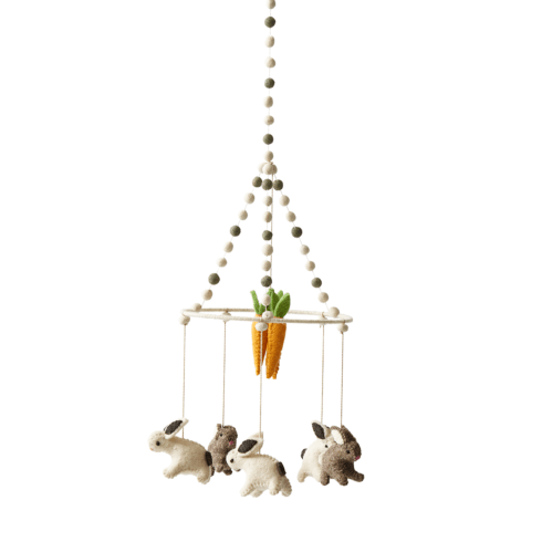 $76.00 Just Hatched Tiny Bunny Mobile
