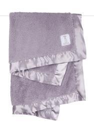 $76.00 Lavender Chenille Baby Blanket
