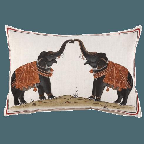 $160.00 John Robshaw Hand Painted Pillow