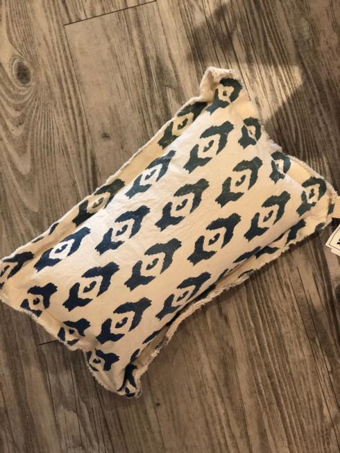 $60.00 MFH - Printed Pattern Pillow - <>