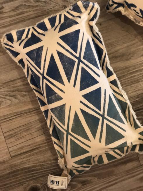 $60.00 MFH - Printed Pattern Pillow - X