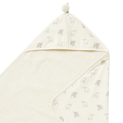 $42.00 Little Lamb Hooded Towel