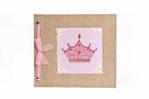 Hugs and Kisses XO   Hugs and Kisses XO Little Princess Baby Memory Book $60.00