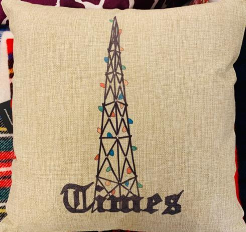 $50.00 Times Christmas Lights Pillow