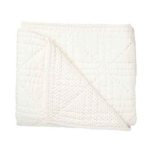 $65.00 Pink Stork Quilted Blanket