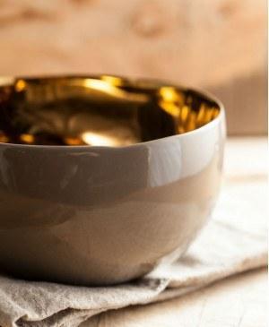 $60.00 Sausalito Large Bowl Gray