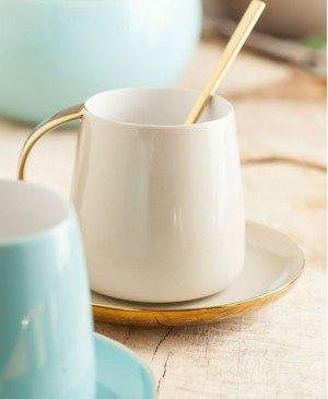$36.00 Sausalito Cup and Saucer Gray