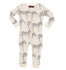 $35.00 Zebra Organic Cotton Zip PJ