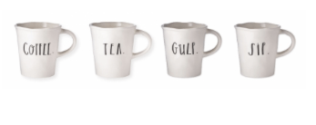 $62.00 Stem Print - Set of Four Mugs