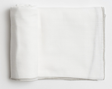 $22.00 Organic Cotton Muslin Lincoln Swaddle