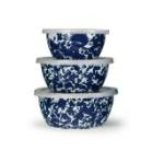Golden Rabbit  Cobalt Mixing Bowl Set, Cobalt $76.00