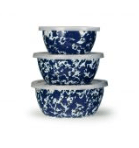 Golden Rabbit  Cobalt Mixing Bowl Set, Cobalt $76.00