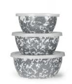 Golden Rabbit  Grey Nesting Bowl Set, Grey $38.00