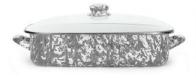 Golden Rabbit  Grey Baking Pan w/Lid Grey $111.00